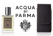 Acqua Di Parma Colonia Intensa Travel Spray With Leather Case